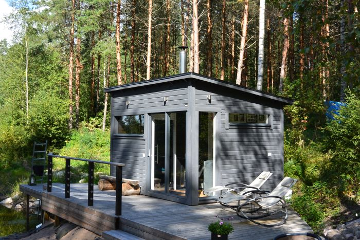Huone1 Sauna ja huone SH120 12 m2
