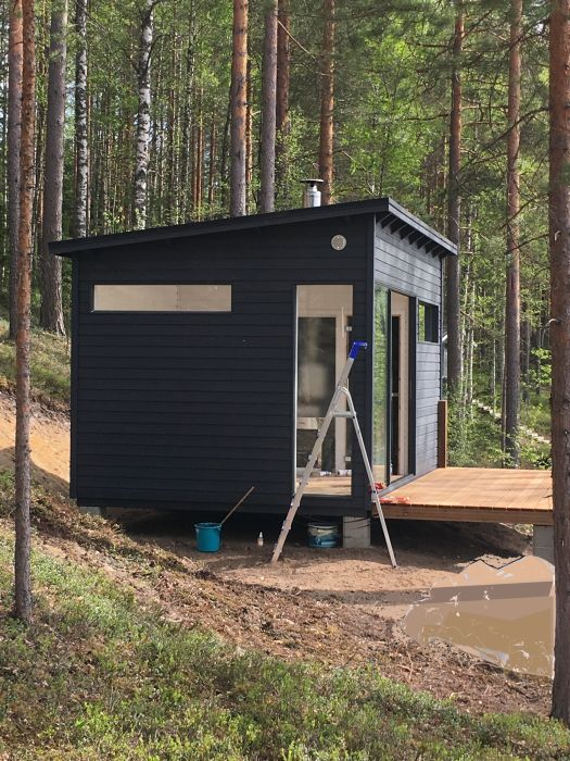 Huone1 Moderni Sauna ja huone SH150