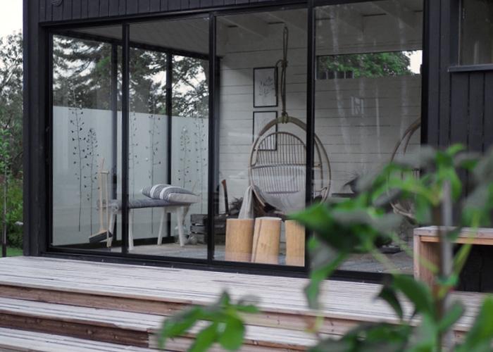Huone1 moderni pihasauna+huone 18 m2