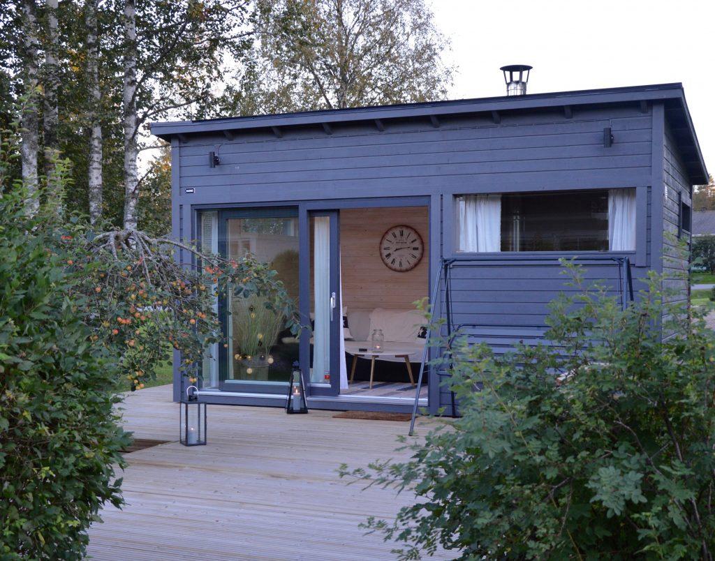 Huone1 Sauna ja talvilämmin Vierastupa 15 m2